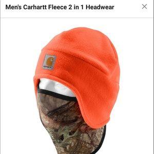Carhartt 2 in 1 headwear. beanie/face mask